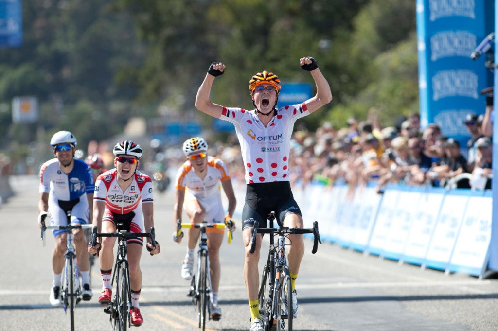 Will Routley wins big in California. (Photo: Optum Pro Cycling)
