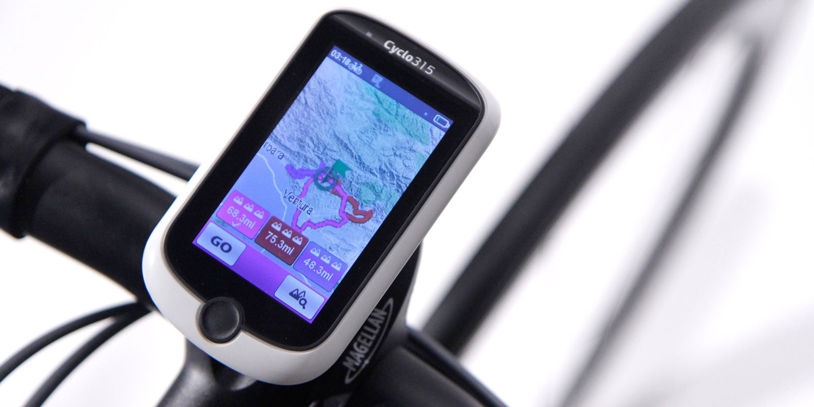 Going After Garmin: Magellan Cyclo315 - Peloton Magazine