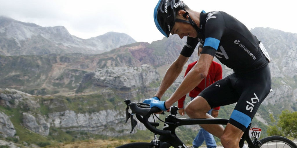 chris froome suffering cracked team sky