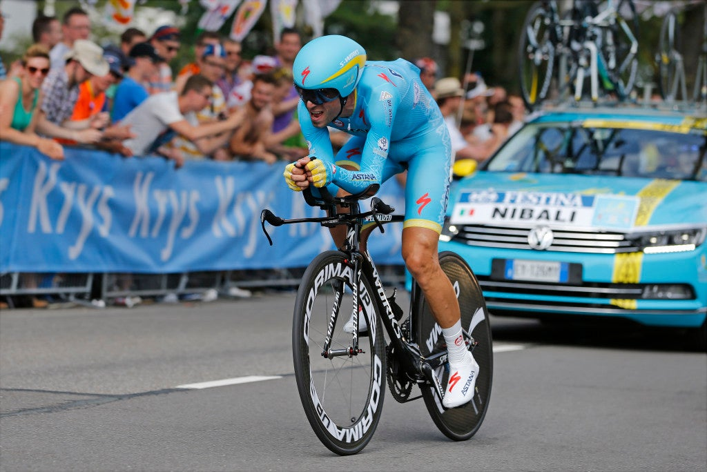 4 July 2015 102nd Tour de France Stage 01 : Utrecht - Utrecht ITT NIBALI Vincenzo (ITA) Astana Photo : Yuzuru SUNADA