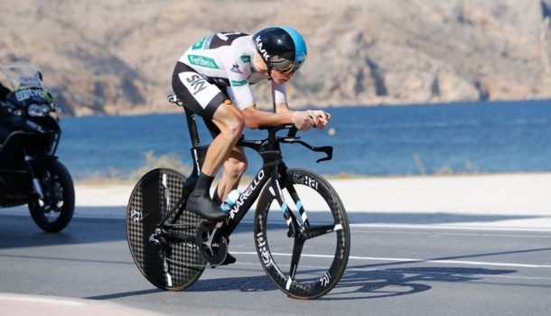 Froome Takes 2 16 Out Of Quintana At Vuelta Itt Peloton Magazine