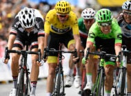 Uran Wins Chaotic Stage 9: Porte and Thomas Crash Out