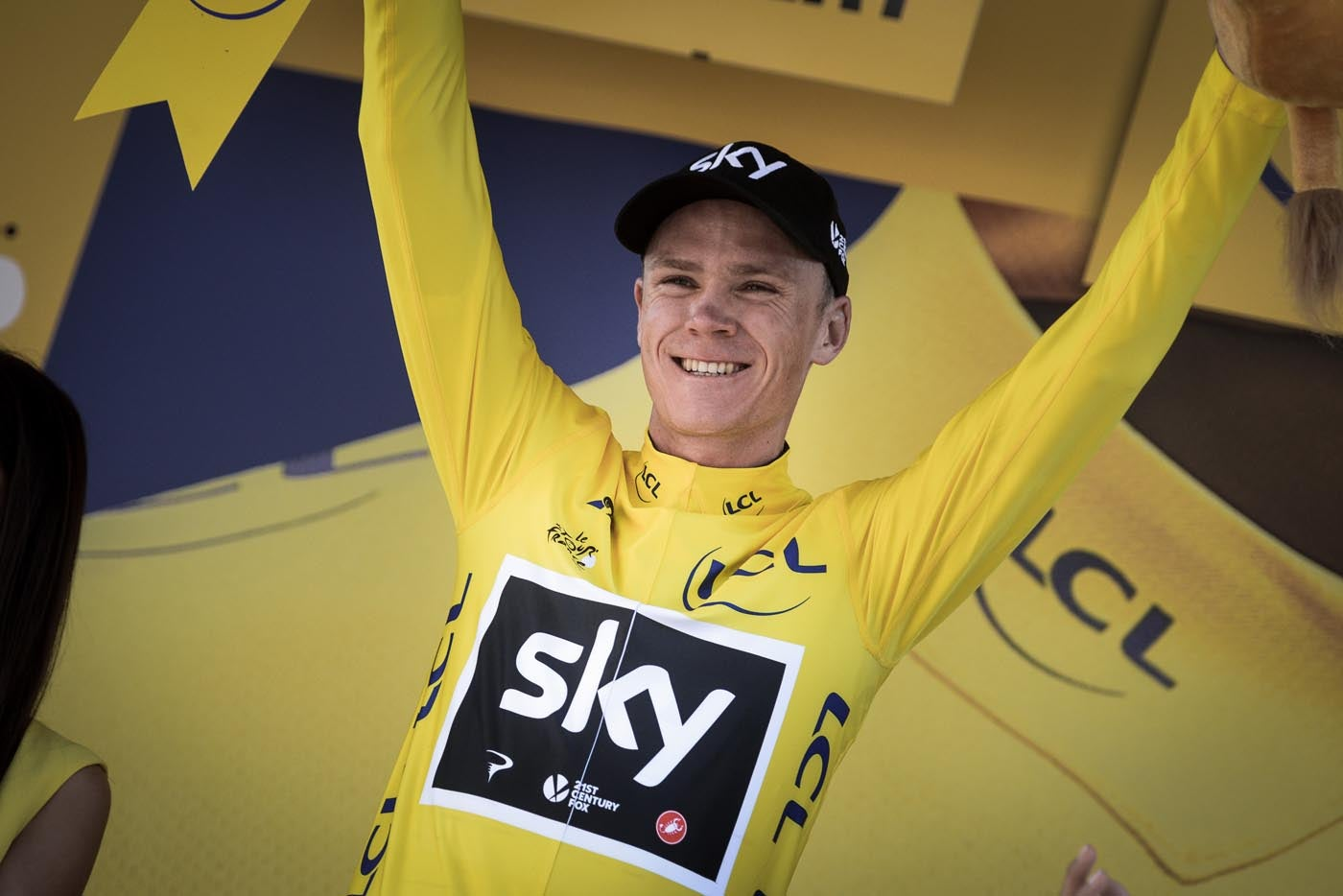 stg15_froome podium_tdf_2017 DETAIL