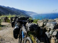 Bikes, Big Sur and a Landslide