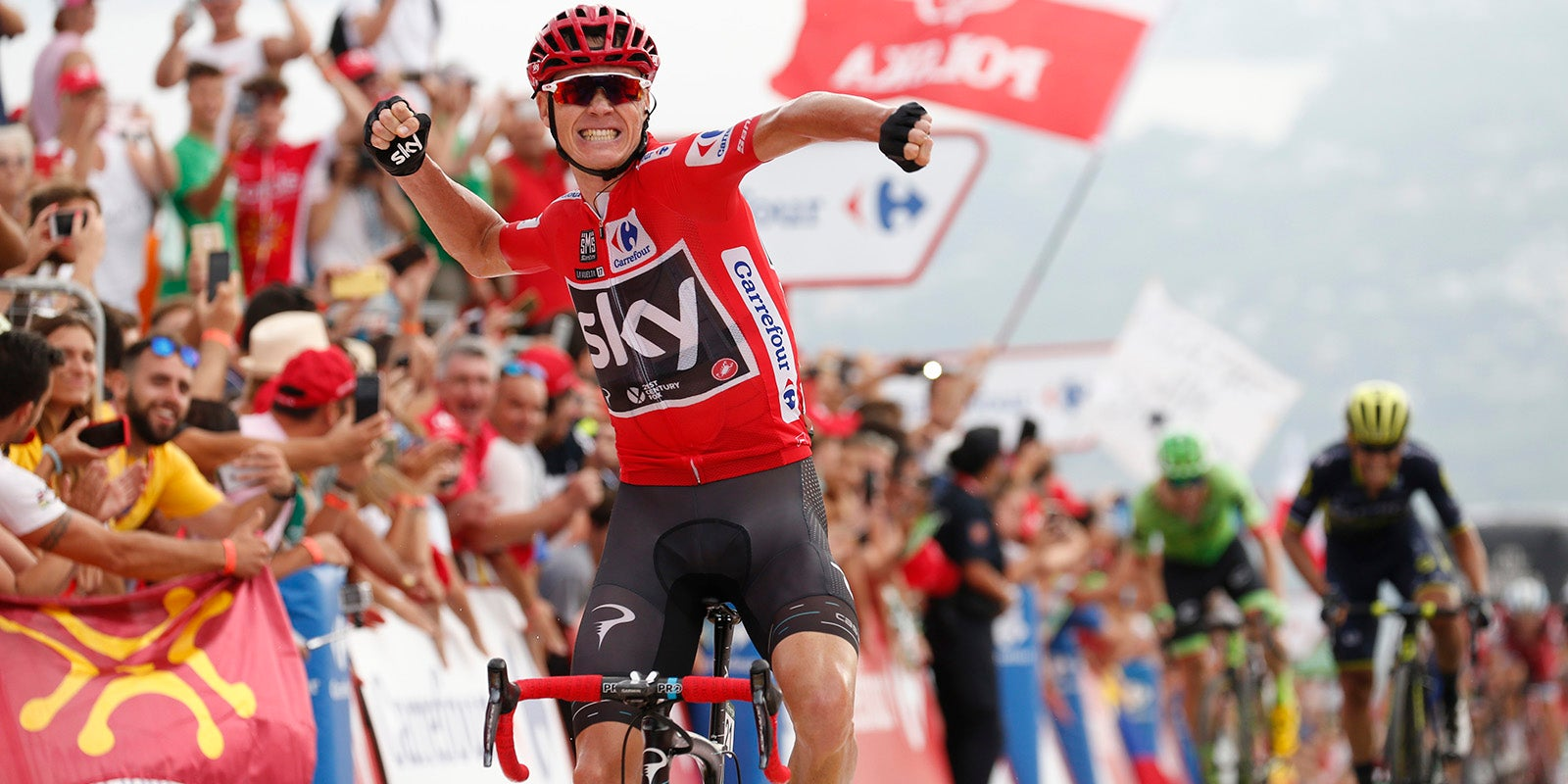 Quot That Was Incredible Today Quot Chris Froome On Stage 9