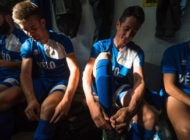 Le Grand Match: Cyclists Trade In Team Kit For Soccer Cleats