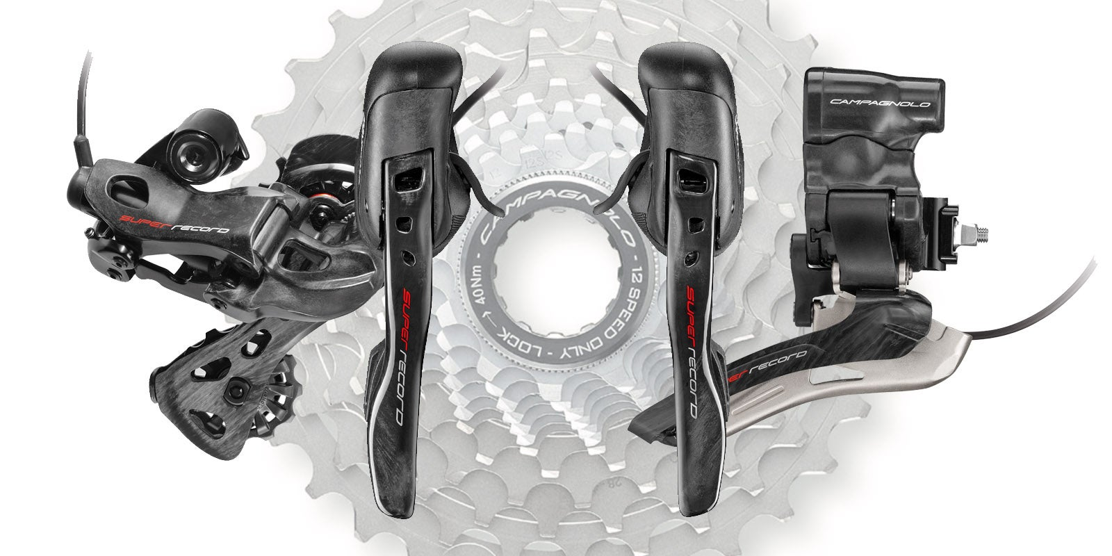 Campagnolo 12speed Goes Electronic: Super Record EPS 12speed