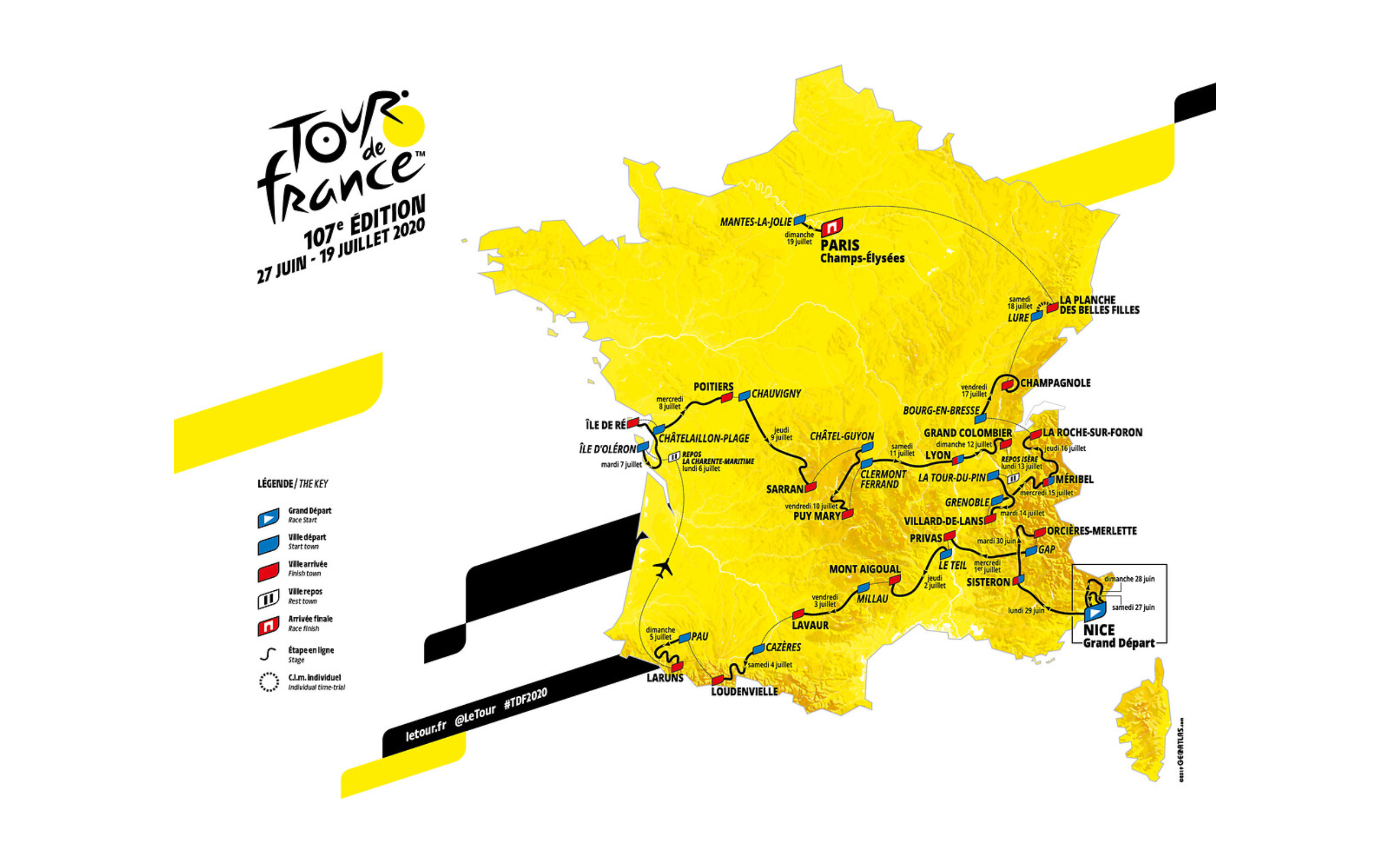 2020 Tour De France Stages.2020 Tour Tougher Than Ever Peloton Magazine